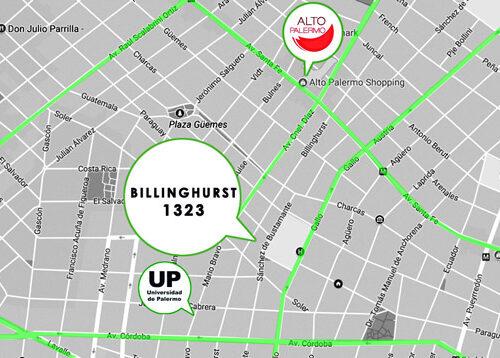 billinghurst-mapa
